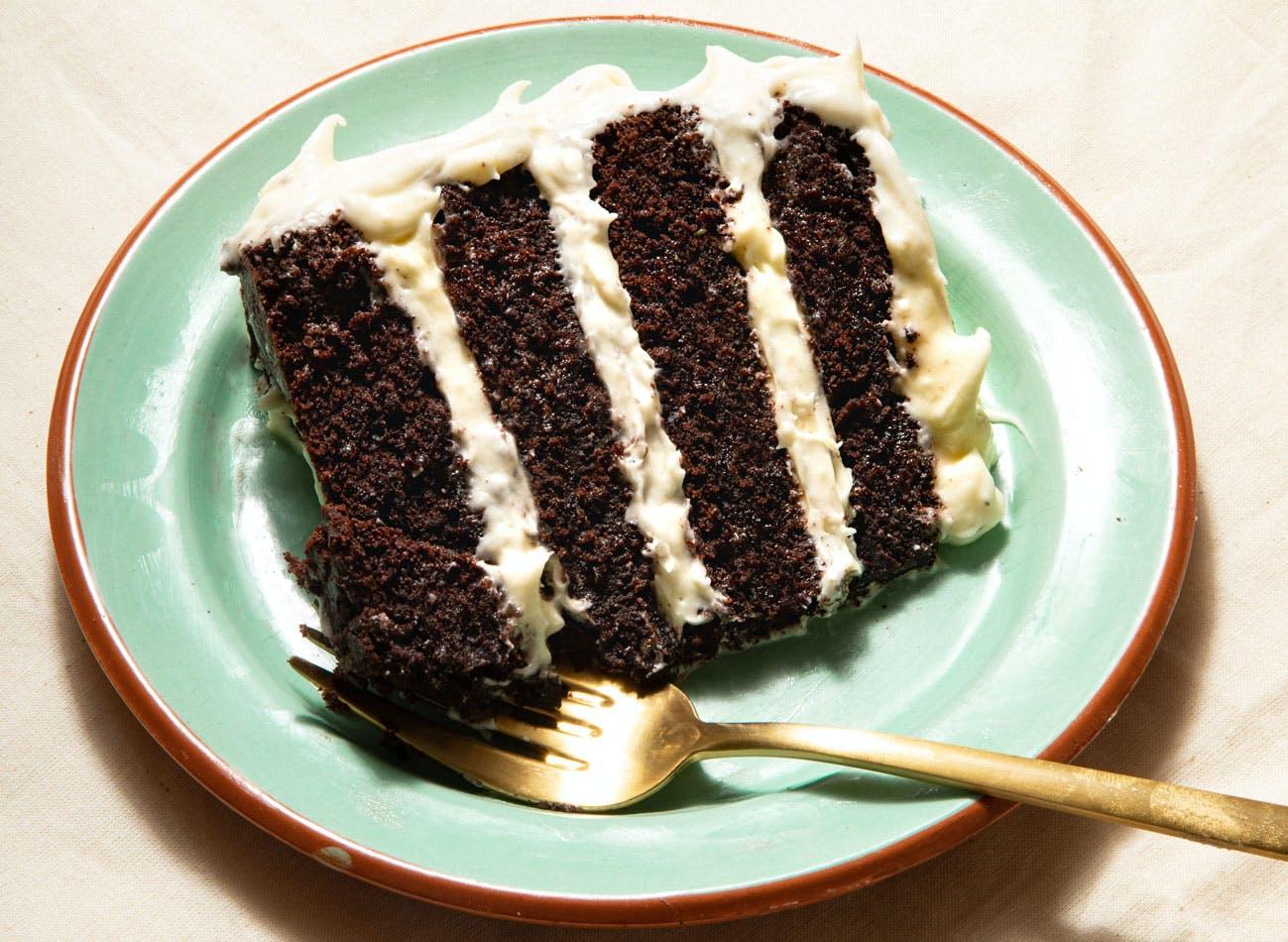 vegan guinness chocolate cake