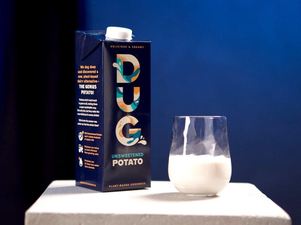 Dug, potato milk