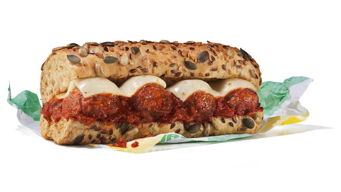 vegan subway sandwich