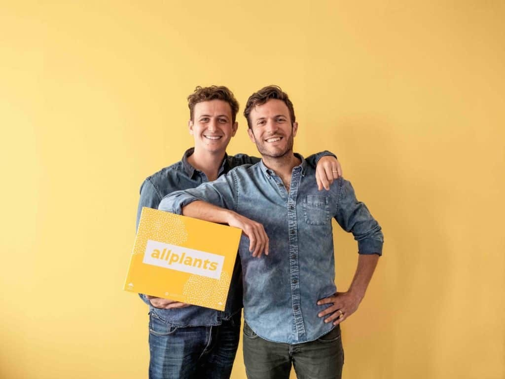 founders holding an allplants box