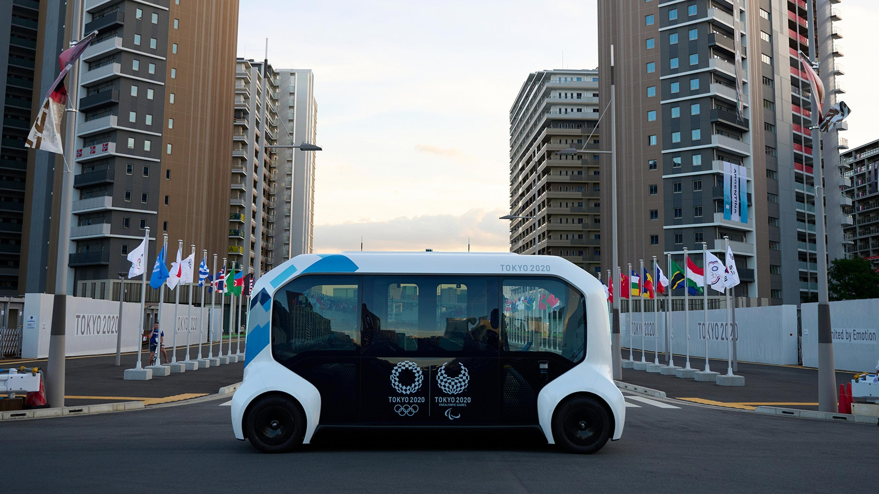 electric olympic bus