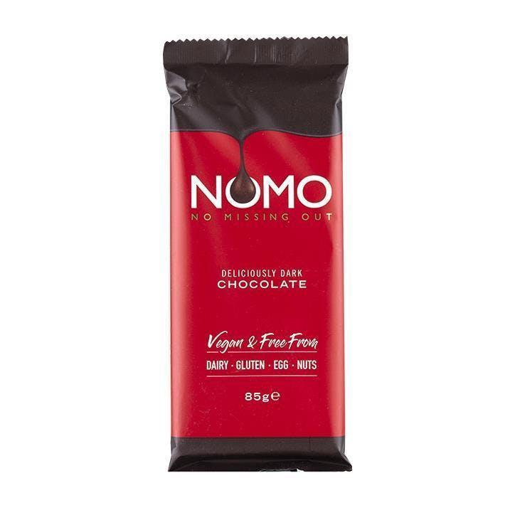 nomo dark chocolate bar