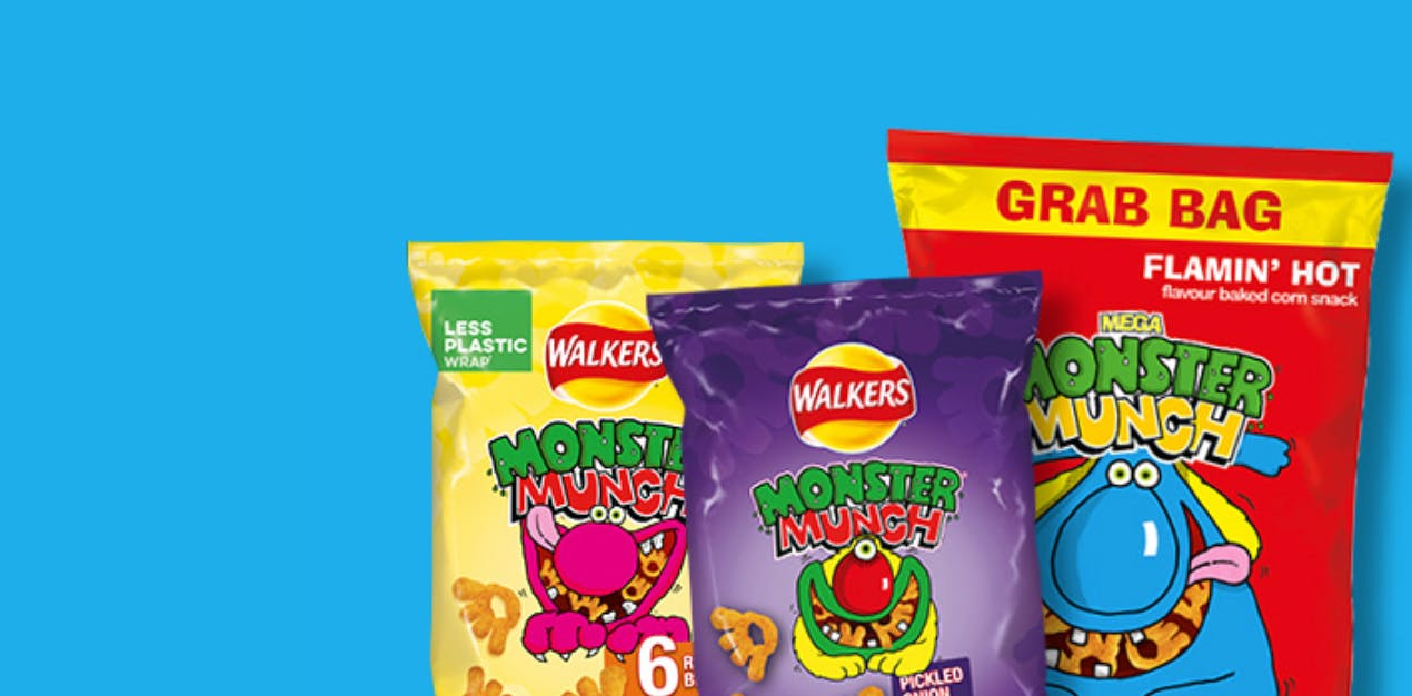 crisps packets
