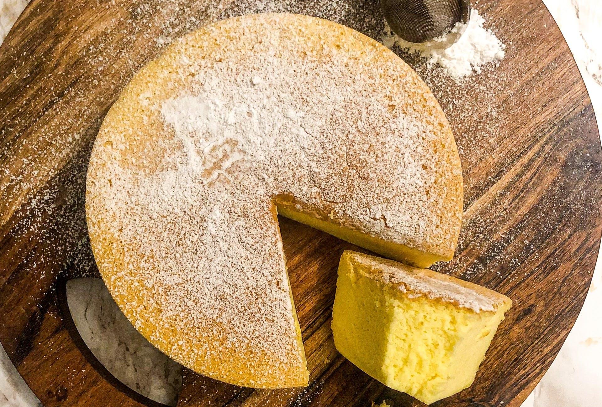 japanese soufle cheesecake