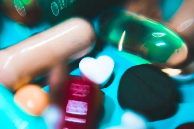 macro of vitamins