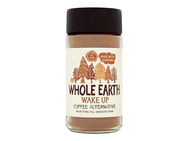 glass jar of instant chicory coffee