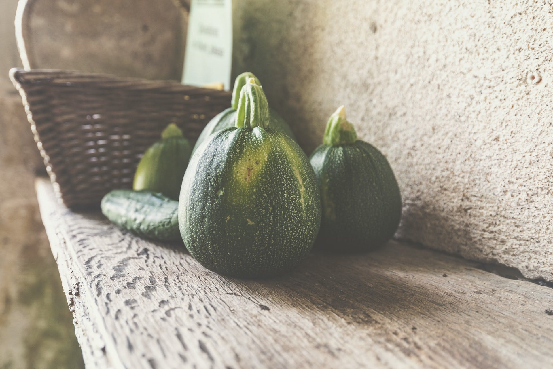 GREEN COURGETTES