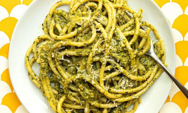 Vegan Pasta al Pesto image