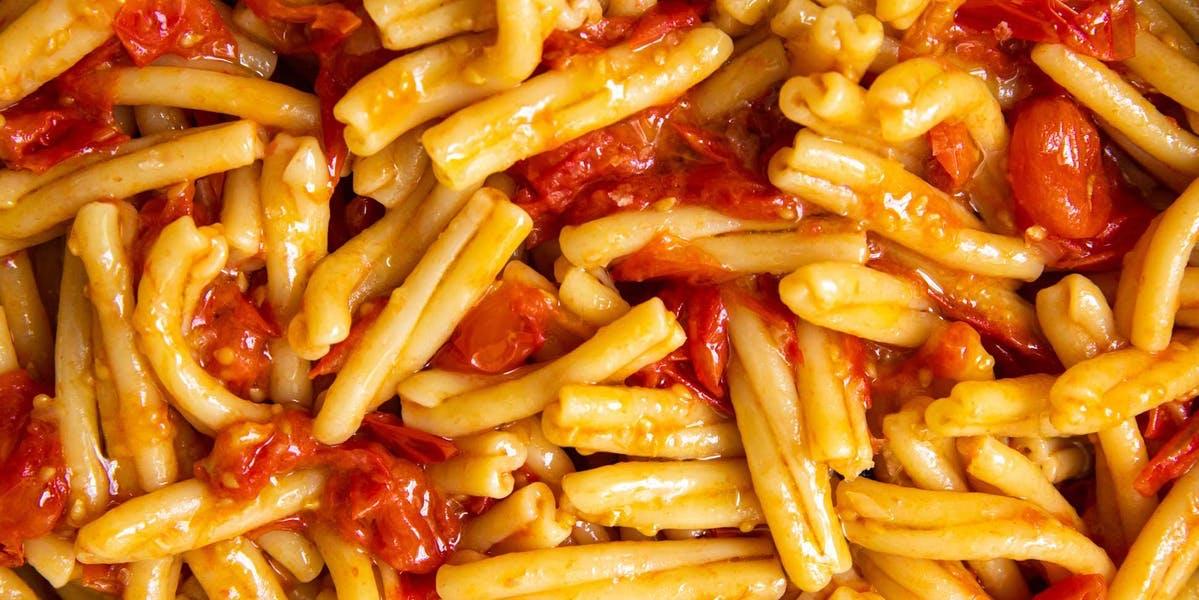 simple tomato pasta