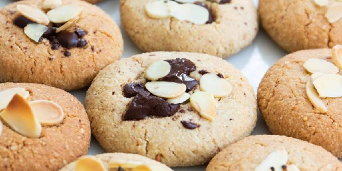 almond butter cookied