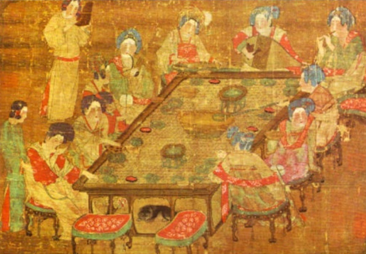 A banquet in the Tang Dynasty