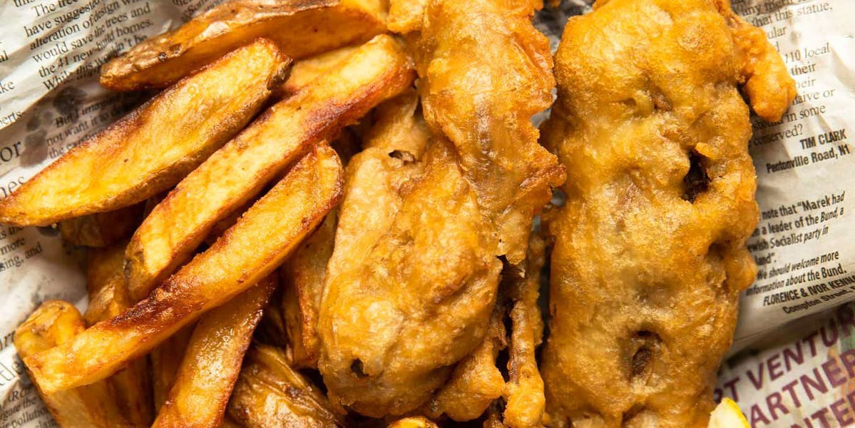 val's vegan fish and chips
