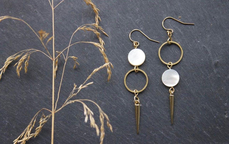 hand craftetd earrings