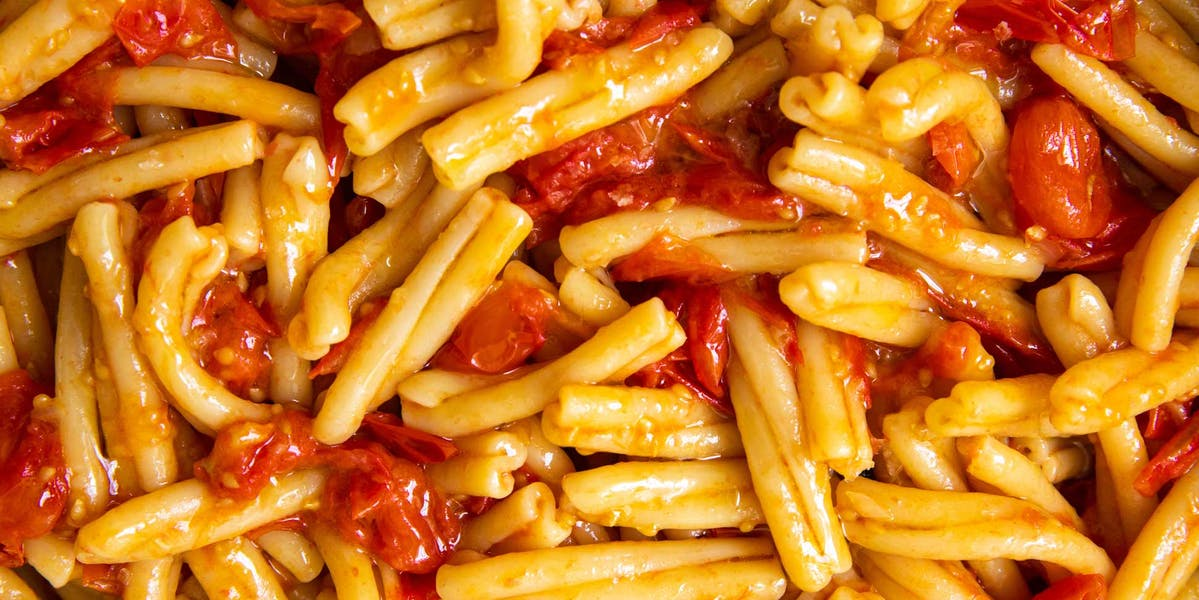 Quick Tomato Pasta image