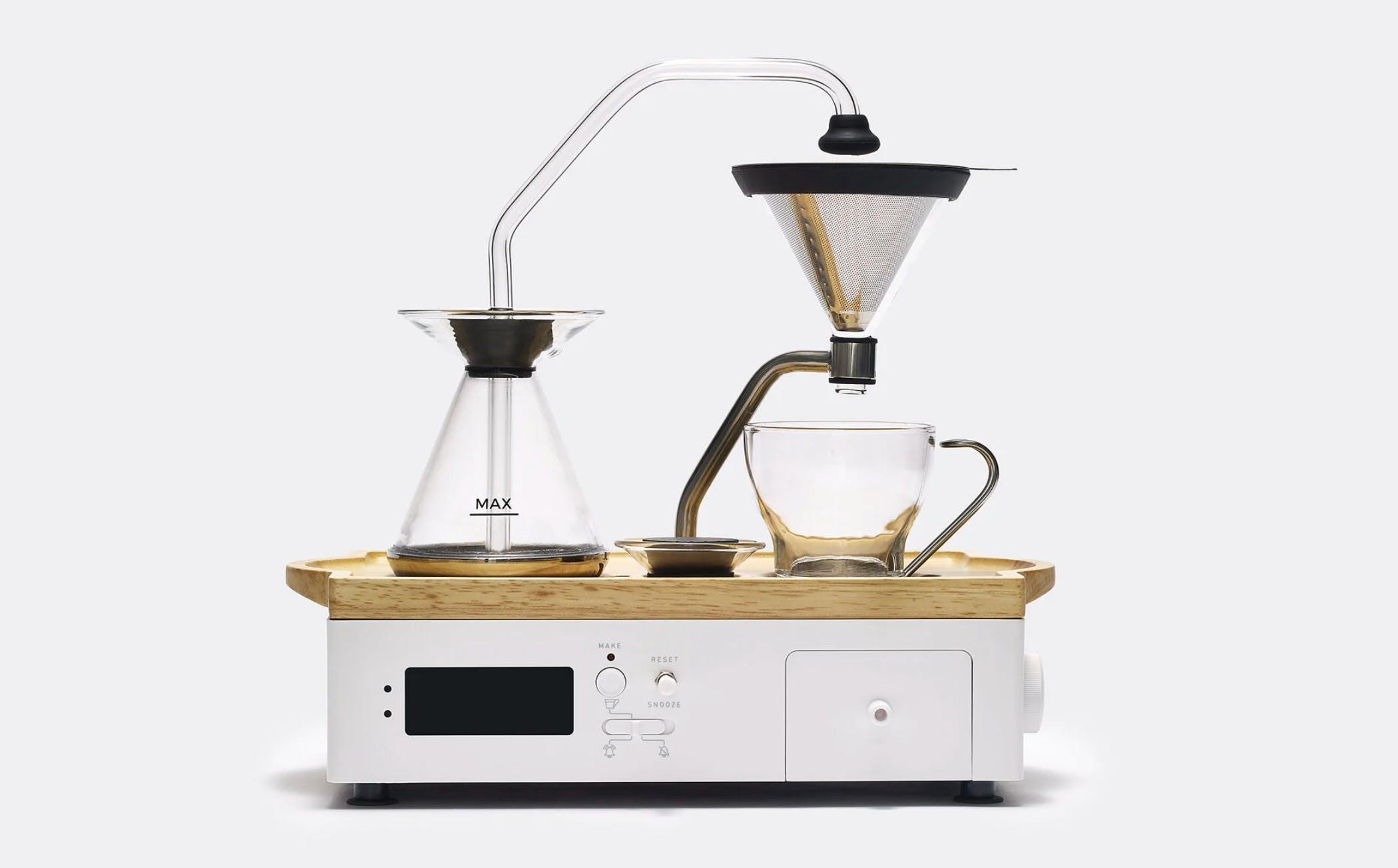 sculptural coffee maker