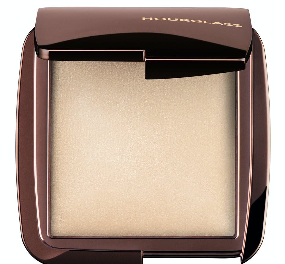 Hourglass highlighter on white background