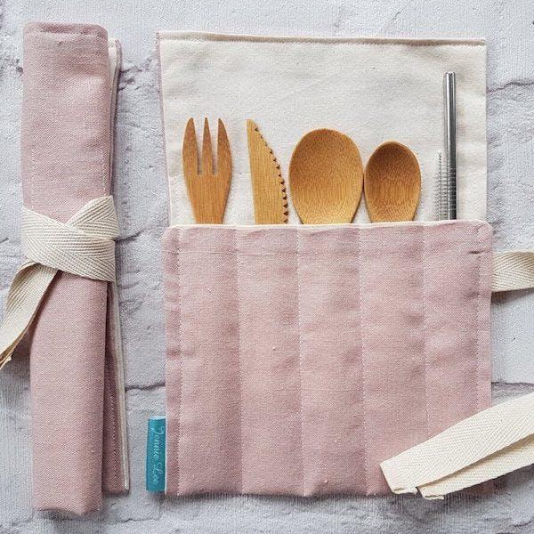 bamboo cuttlery set
