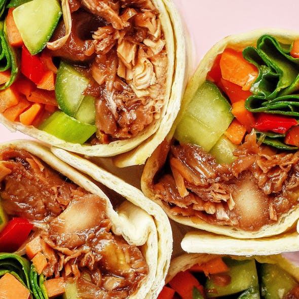 Vegan Jackfruit Adobo Wraps image