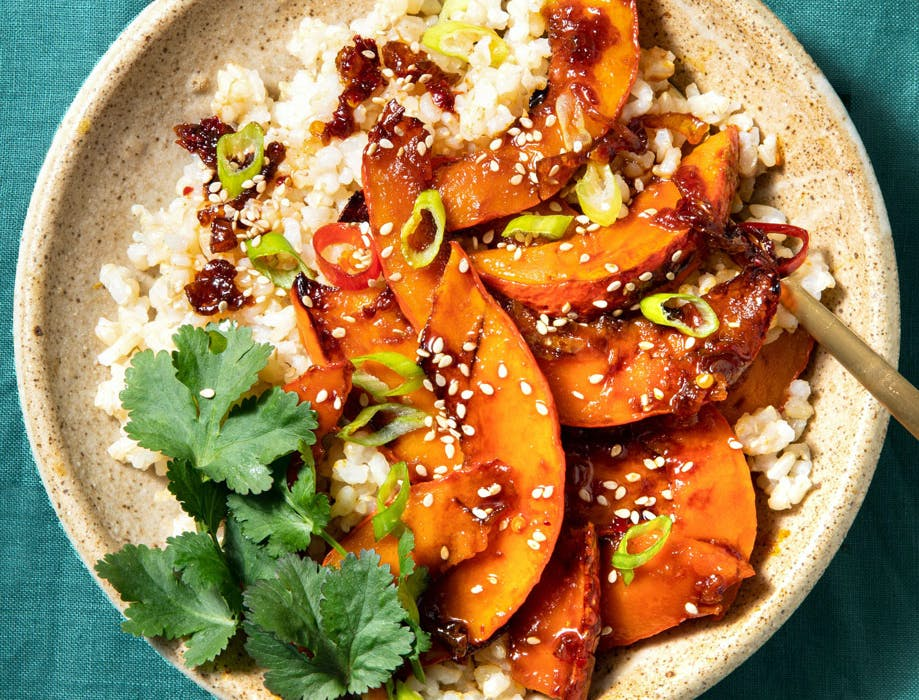 sweet and sour pumpkin