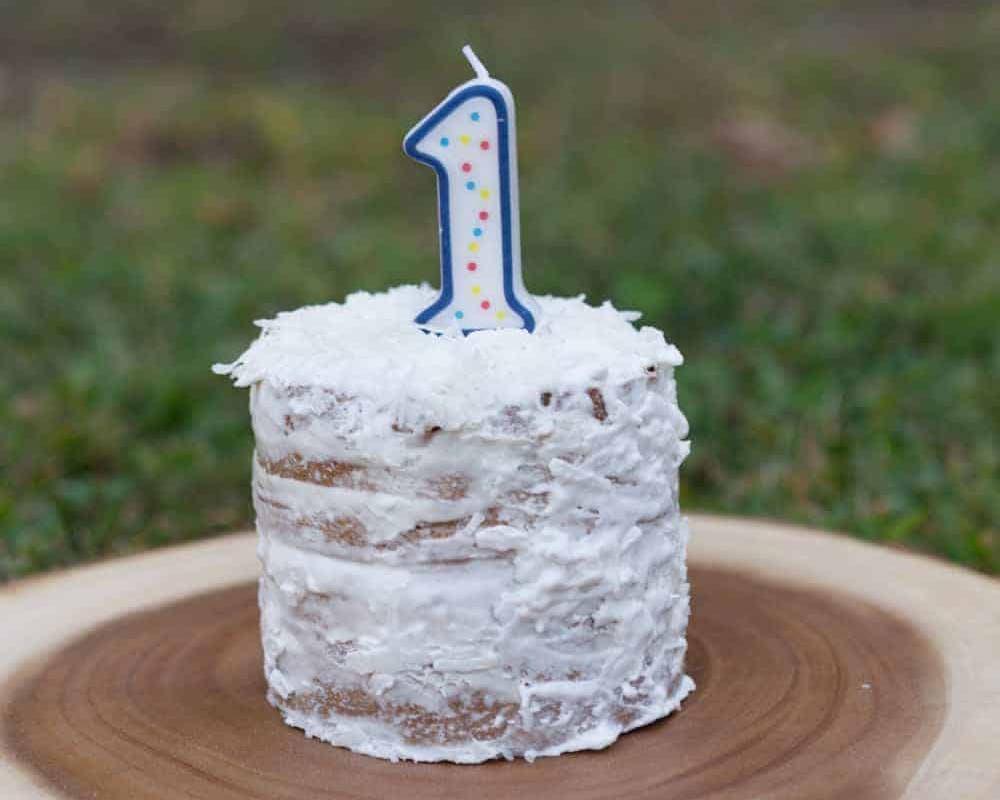 iced smash cake