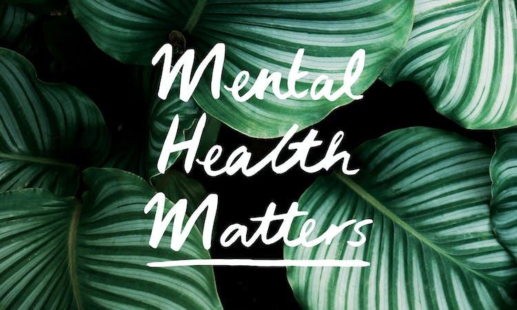 mental health matters leaf header