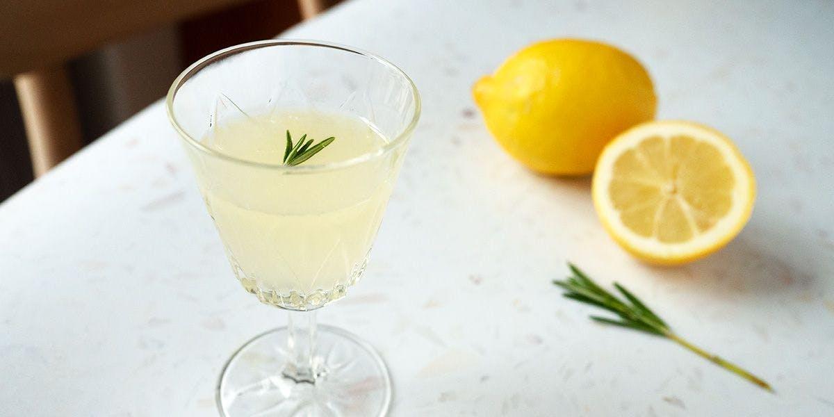 lemon drop vodka cocktail