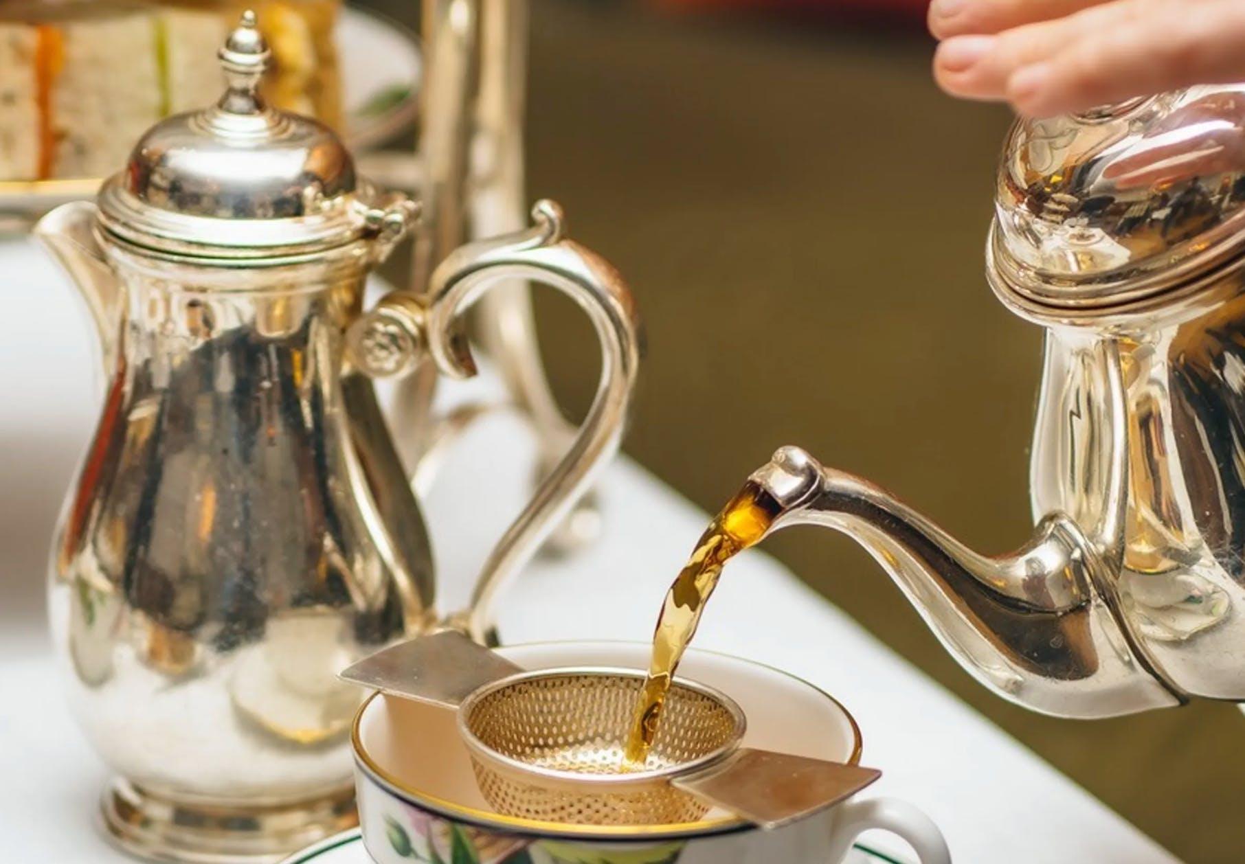 fancy afternoon tea