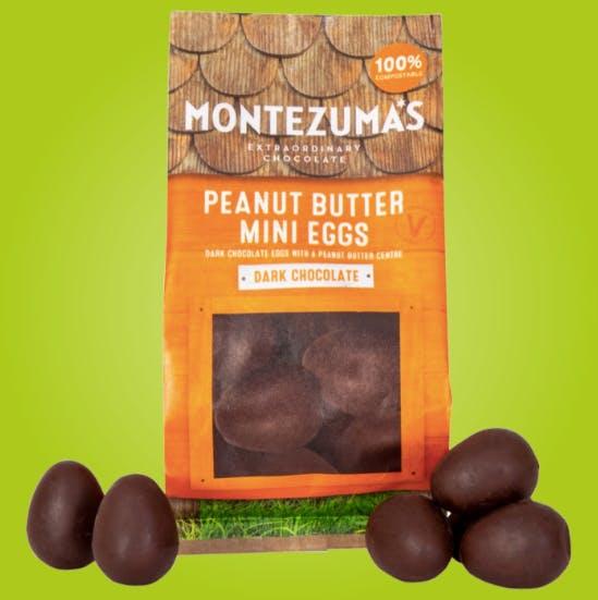 Montezuma's dark chocolate mini eggs