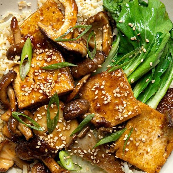Tofu and Mushroom Stir Fry image