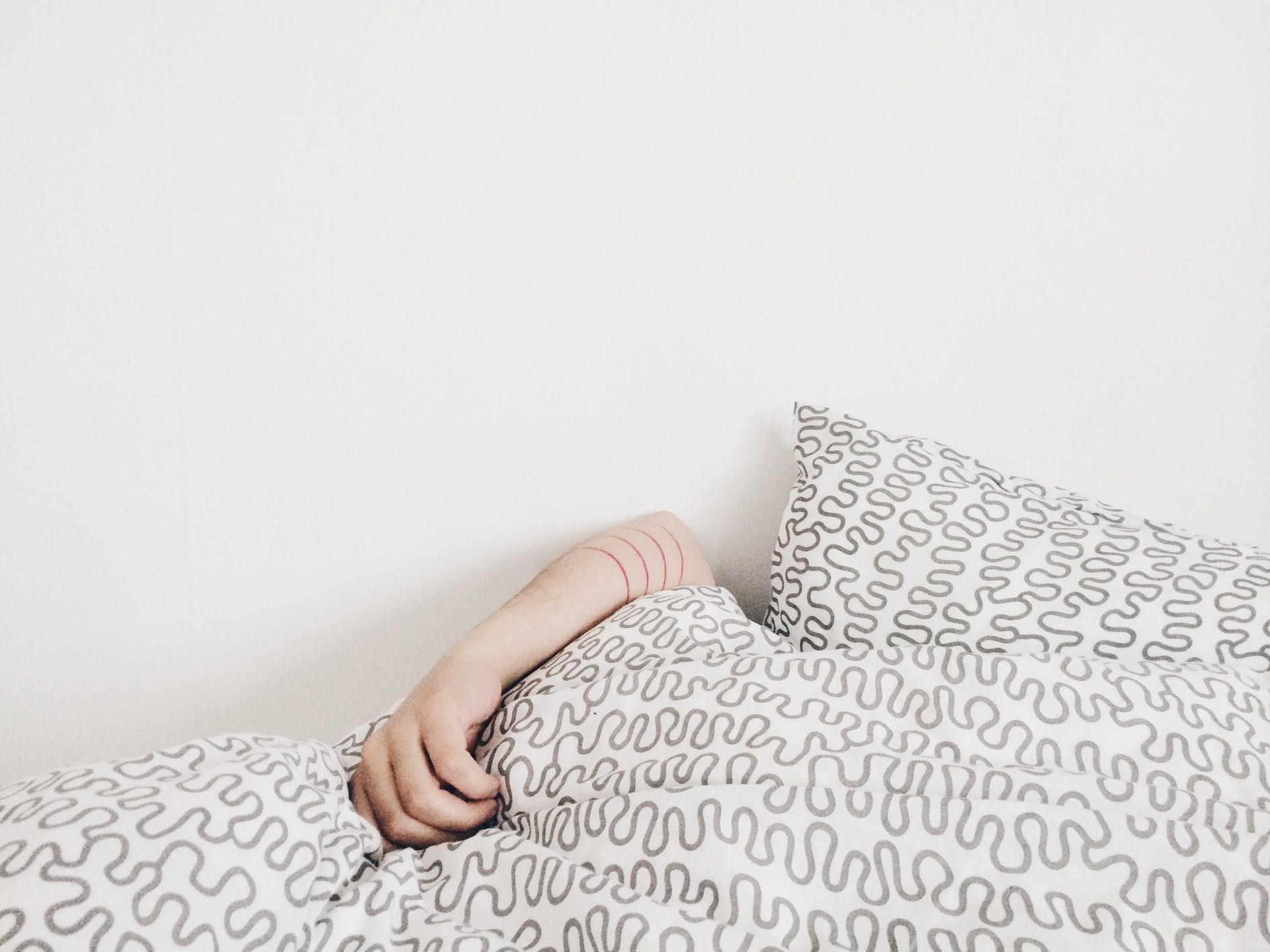 a person napping