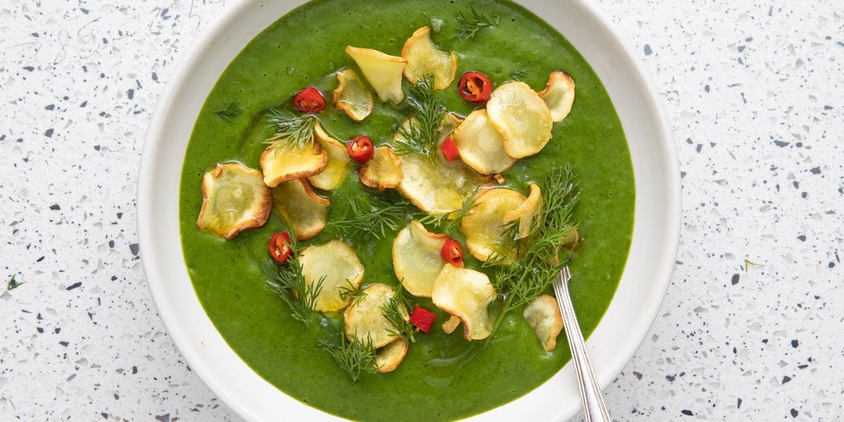 kale and parsnip soup