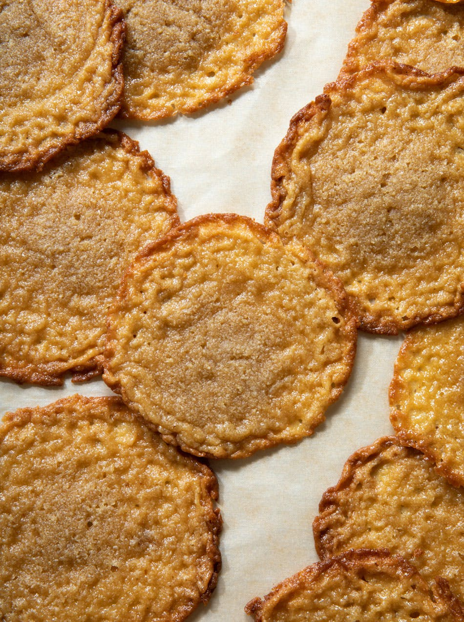 lace biscuits