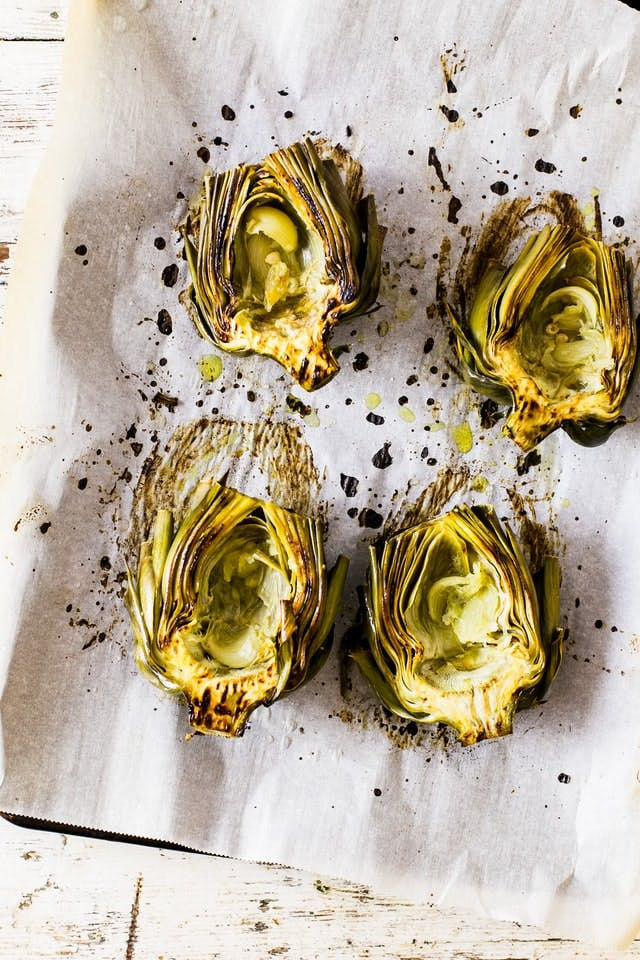 roasted artichoke hearts