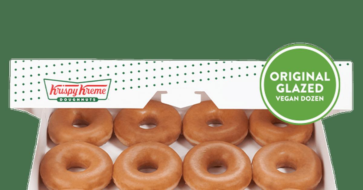 krispy kreme vegan doughnuts