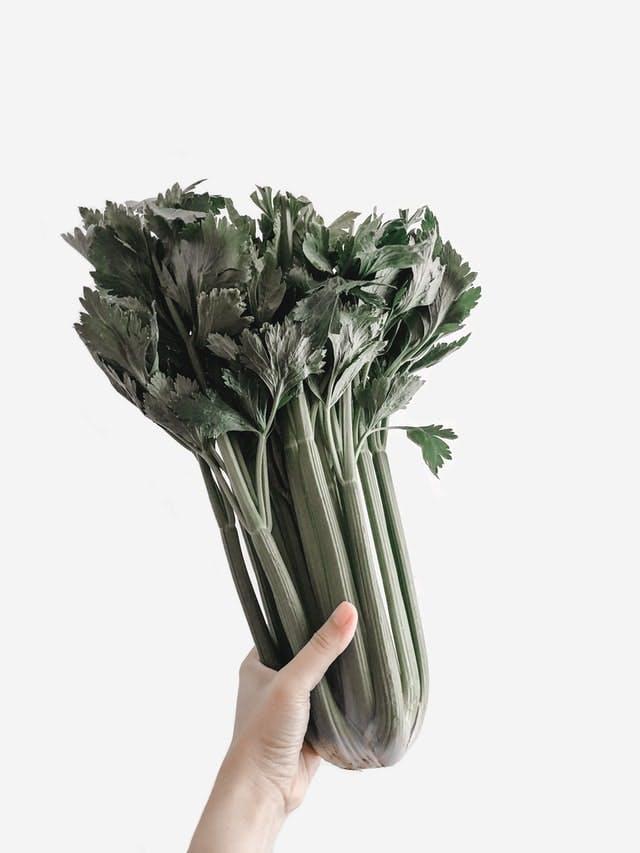 clump of celery