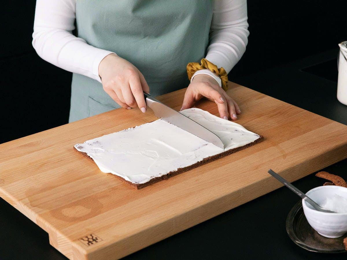 preparing mini rolls
