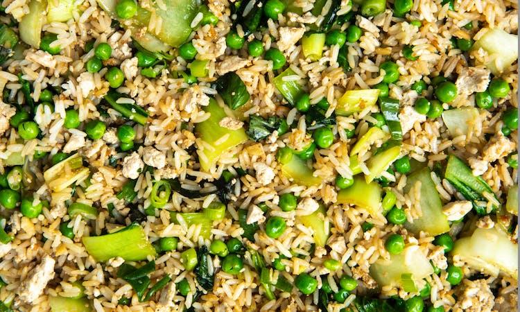 Vegan Crispy Fried Rice image