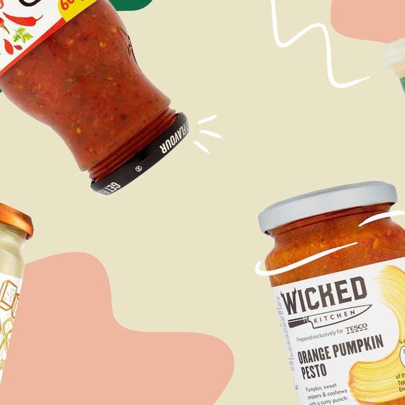 Vegan Shopping Basket – The Best Vegan Pasta Sauces  image