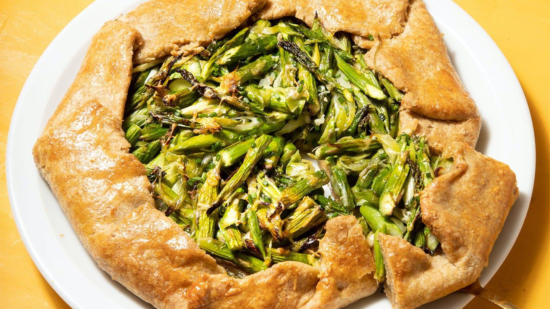 asparagus galette