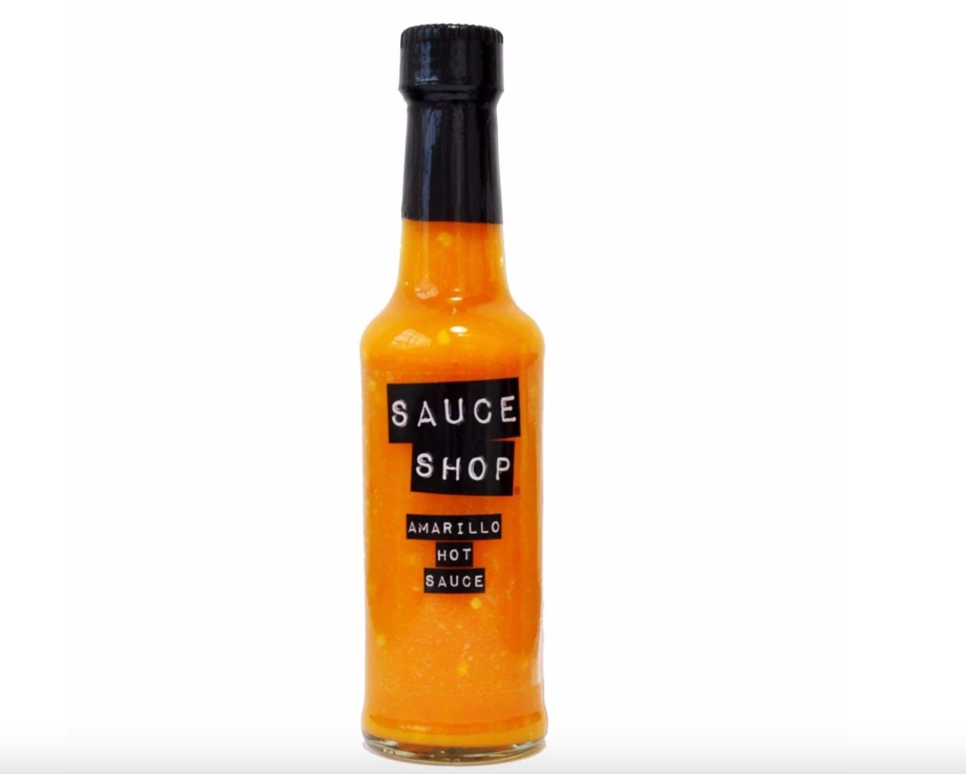 a bottle of hot sauce