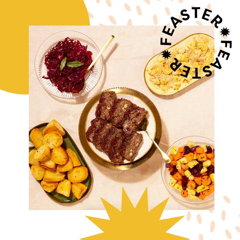 feaster spread