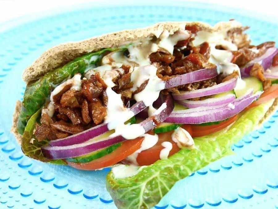 vegan donner kebab
