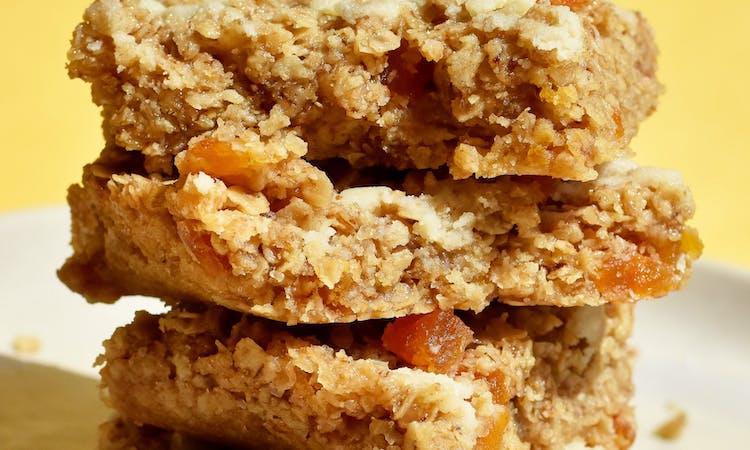 Vegan Apricot Flapjacks image