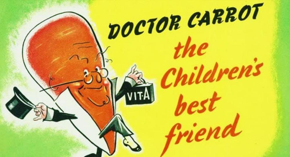 Carrot propaganda poster