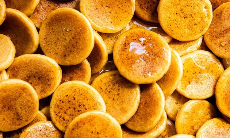 Vegan Pancake Cereal; Mini Pancakes