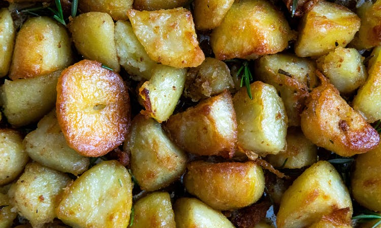 Crispy Roast Potatoes  image