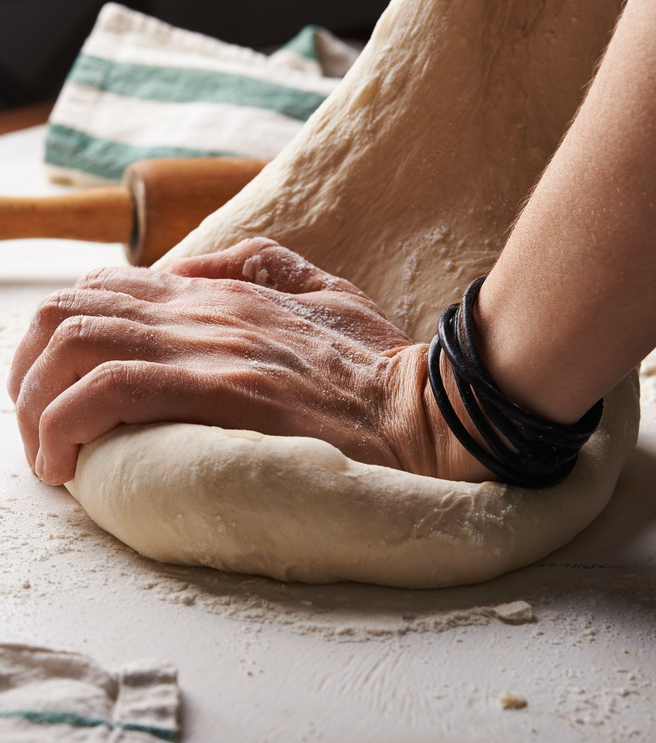 person needing dough