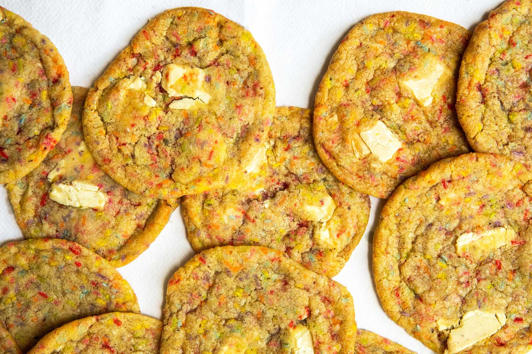 vegan birthday cake cookies