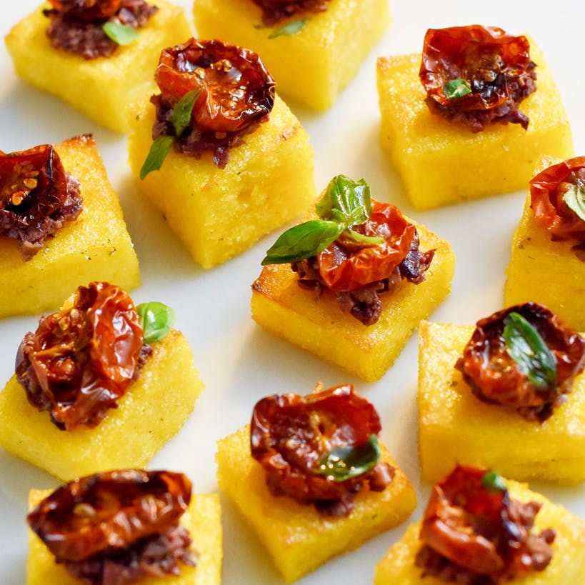 polenta bites