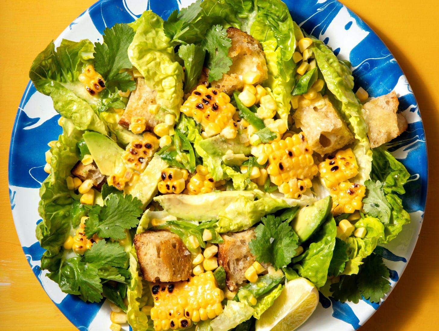 grilled. salad